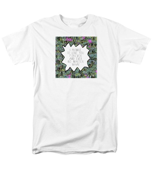 Men's T-Shirt  (Regular Fit) featuring the painting I Promise by Lisa Weedn