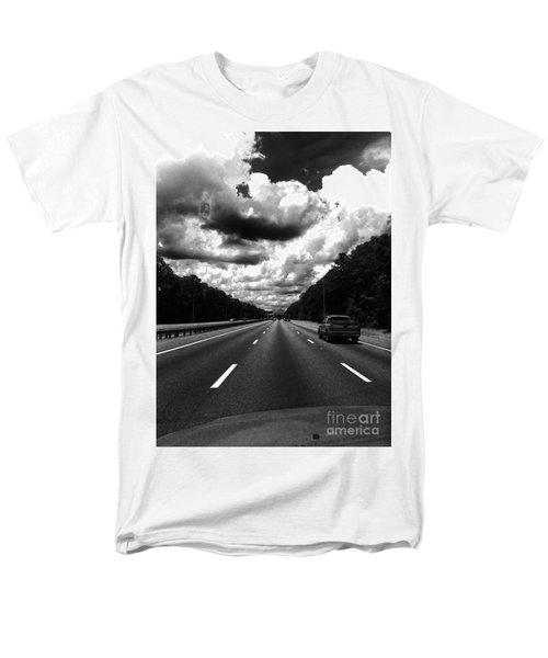 I95 Clouds Men's T-Shirt  (Regular Fit) by WaLdEmAr BoRrErO