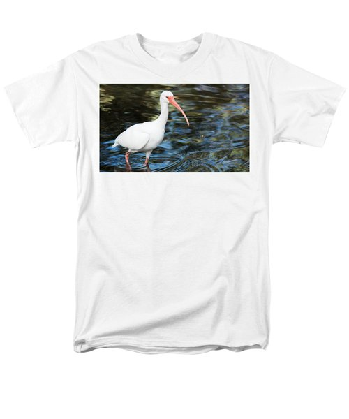 Ibis In The Swamp Men's T-Shirt  (Regular Fit) by Kenneth Albin