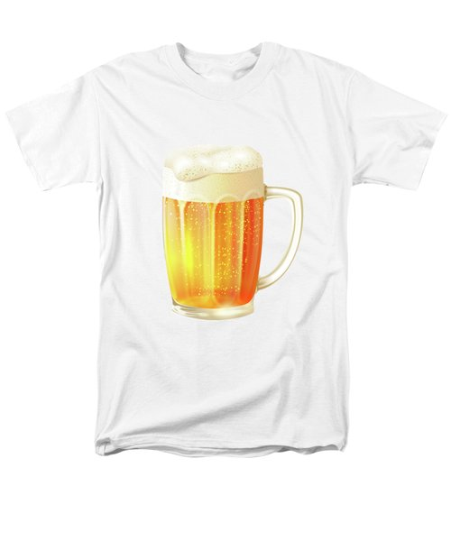 Ice Cold Beer Pattern Men's T-Shirt  (Regular Fit) by Little Bunny Sunshine