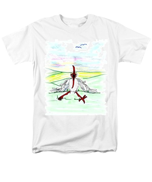I'll Never Fly Again Men's T-Shirt  (Regular Fit)