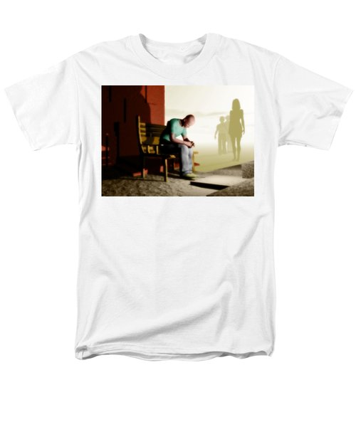In A Fog Of Isolation Men's T-Shirt  (Regular Fit) by John Alexander