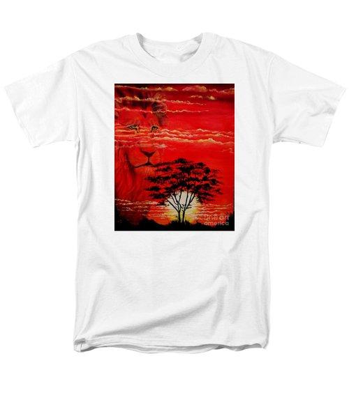 In An Arfican Sunset Men's T-Shirt  (Regular Fit) by Ruanna Sion Shadd a'Dann'l Yoder
