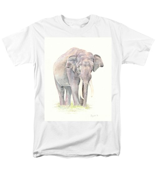 Men's T-Shirt  (Regular Fit) featuring the painting In Charge by Elizabeth Lock