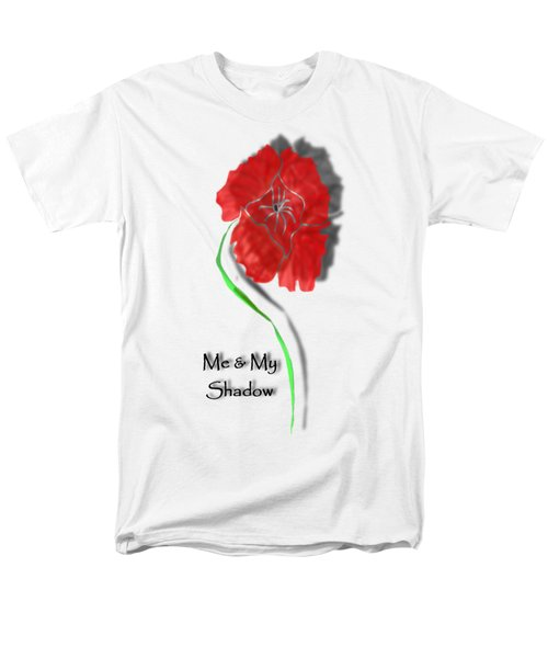 In Remembrance Poppy Men's T-Shirt  (Regular Fit) by Barbara St Jean