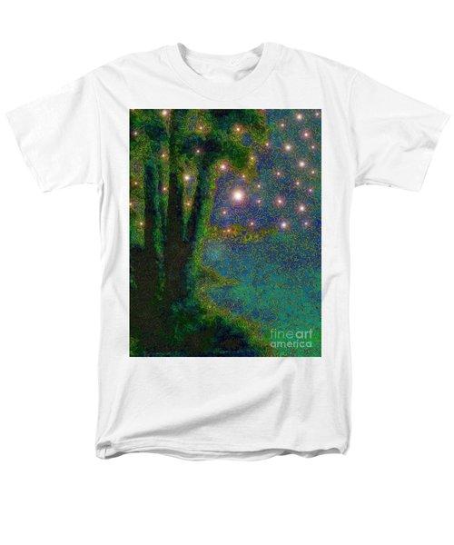 In The Beginning God... Men's T-Shirt  (Regular Fit) by Hazel Holland