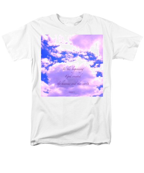 In The Beginning Men's T-Shirt  (Regular Fit) by Russell Keating
