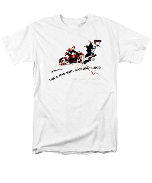 Indian Motorcycle - Sporting Blood 1930 Men's T-Shirt  (Regular Fit)
