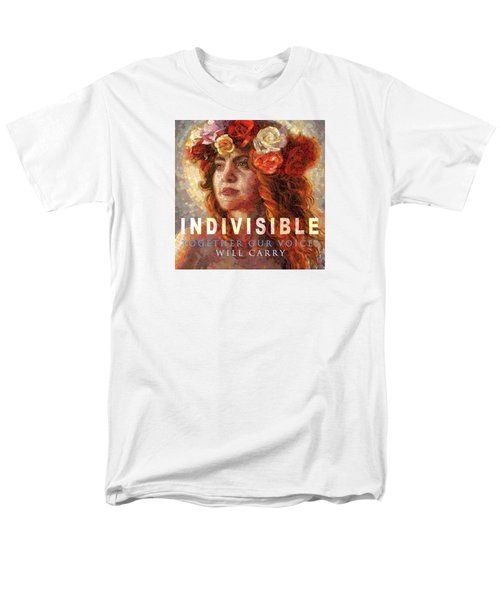 Men's T-Shirt  (Regular Fit) featuring the glass art Indivisible by Mia Tavonatti