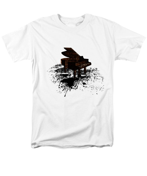 Inked Gold Piano Men's T-Shirt  (Regular Fit) by Barbara St Jean