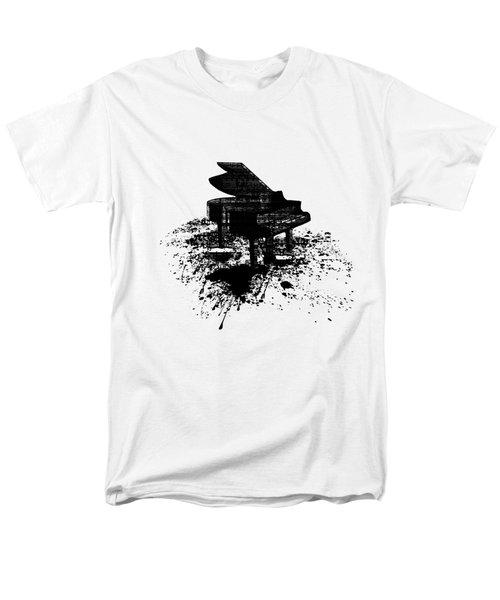 Inked Piano Men's T-Shirt  (Regular Fit) by Barbara St Jean