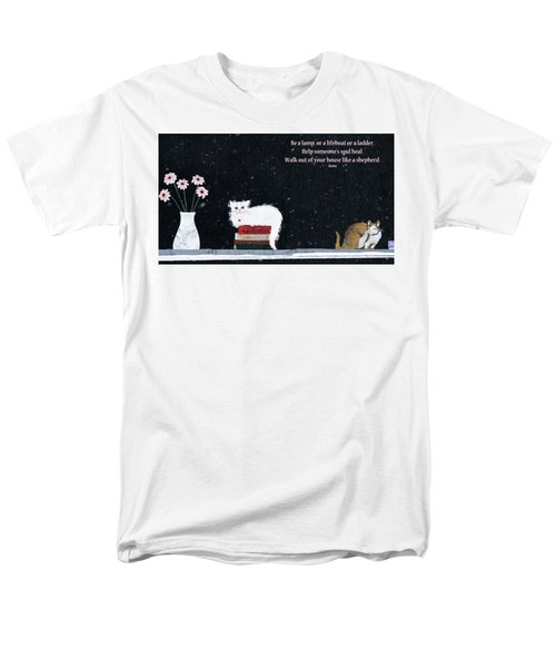 Inspiration Men's T-Shirt  (Regular Fit) by Rhonda McDougall
