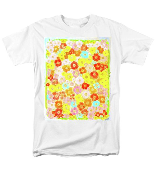 Men's T-Shirt  (Regular Fit) featuring the painting Inspired By Persimmon by Lorna Maza
