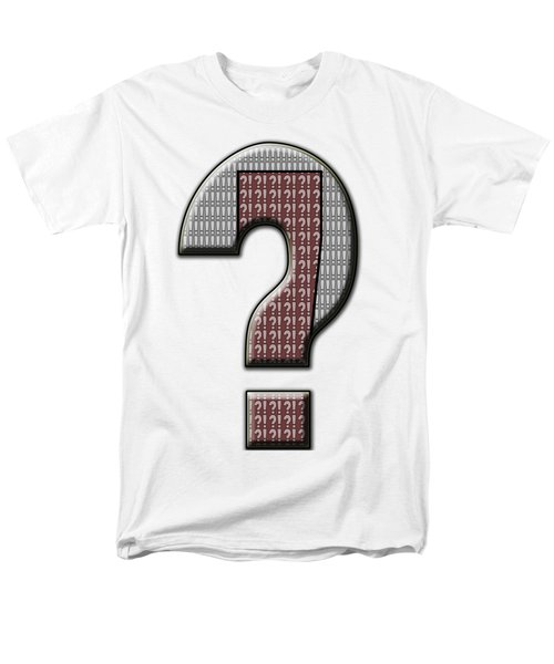 Interrobang 5 Men's T-Shirt  (Regular Fit) by Brian Wallace
