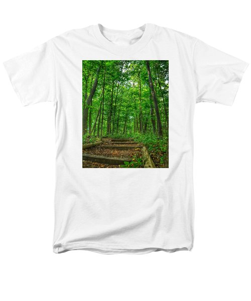 Into The Forest Men's T-Shirt  (Regular Fit) by Nikki McInnes