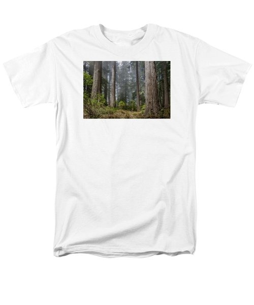 Into The Redwood Forest Men's T-Shirt  (Regular Fit) by Greg Nyquist