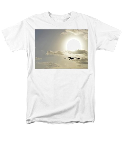 Men's T-Shirt  (Regular Fit) featuring the photograph Into The Sun by Sebastien Coursol