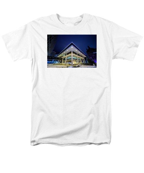 Inverted Pyramid Men's T-Shirt  (Regular Fit)
