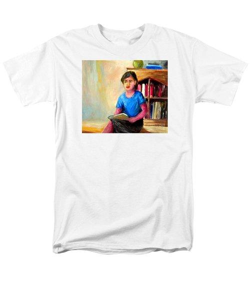 Men's T-Shirt  (Regular Fit) featuring the painting Irene by Jason Sentuf