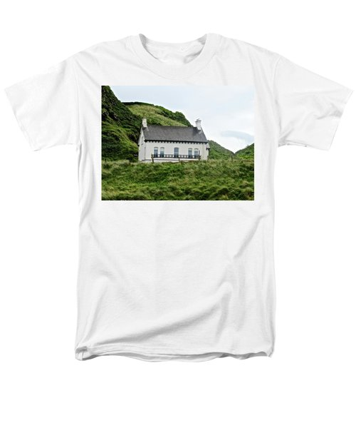 Irish Cottage Men's T-Shirt  (Regular Fit) by Stephanie Moore