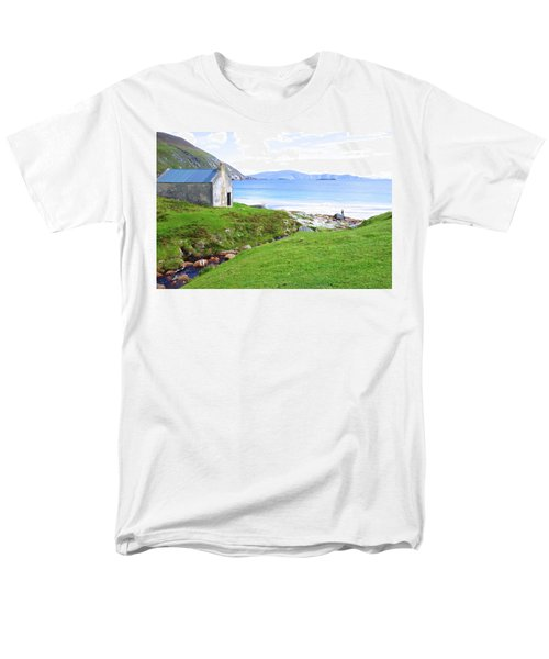 Irish Treasures.. Past And Present Men's T-Shirt  (Regular Fit) by Charlie and Norma Brock