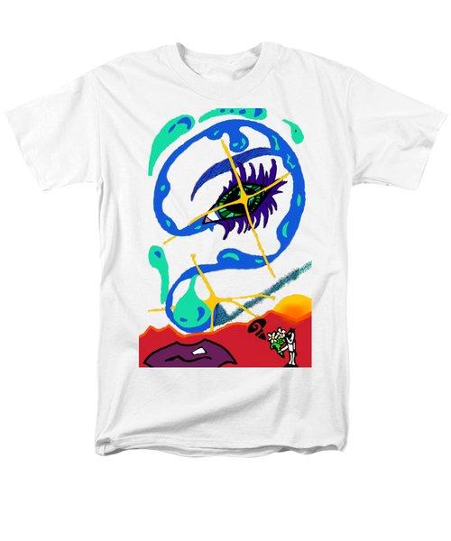 iseeU Men's T-Shirt  (Regular Fit) by Flyn Phoenix