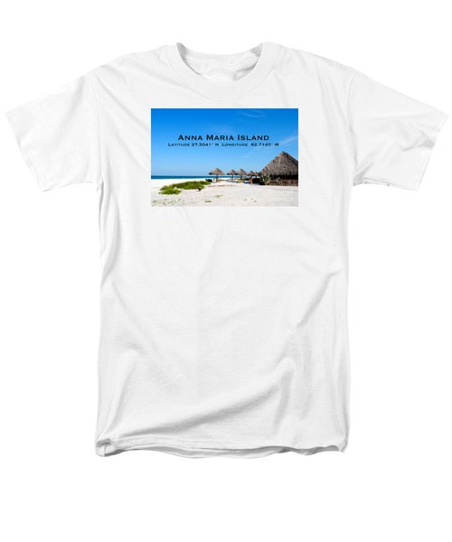Island Time Men's T-Shirt  (Regular Fit) by Margie Amberge