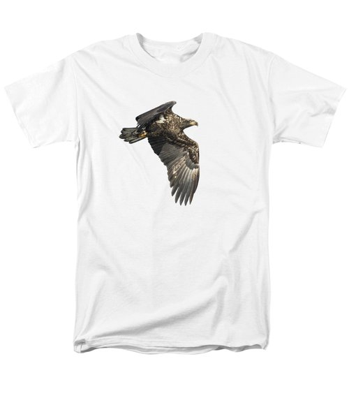 Men's T-Shirt  (Regular Fit) featuring the photograph Isolated Eagle 2017-2 by Thomas Young