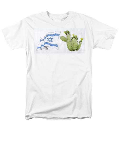 Israel Men's T-Shirt  (Regular Fit) by Annemeet Hasidi- van der Leij