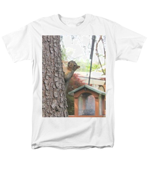 Men's T-Shirt  (Regular Fit) featuring the photograph It Was Not Me I Tell Yuh by Marie Neder