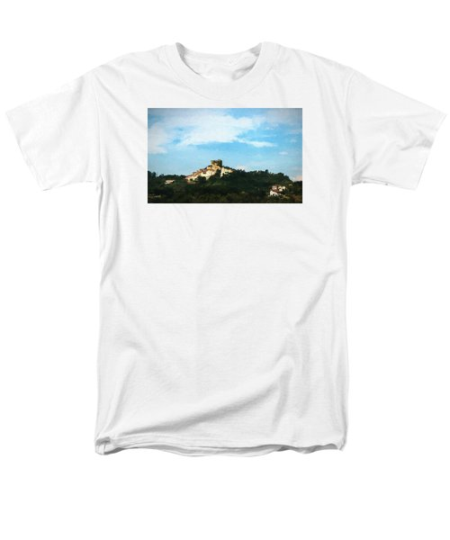 Italian Countryside Men's T-Shirt  (Regular Fit) by Kathleen Scanlan