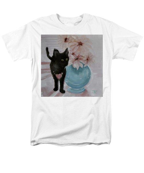 Jacobs's Cat Men's T-Shirt  (Regular Fit) by Julie Todd-Cundiff