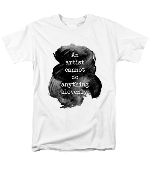 Jane Austen Quote Men's T-Shirt  (Regular Fit) by Ummuhan Uslu