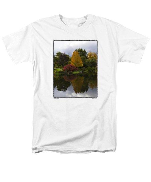 Japanese Garden Men's T-Shirt  (Regular Fit) by R Thomas Berner