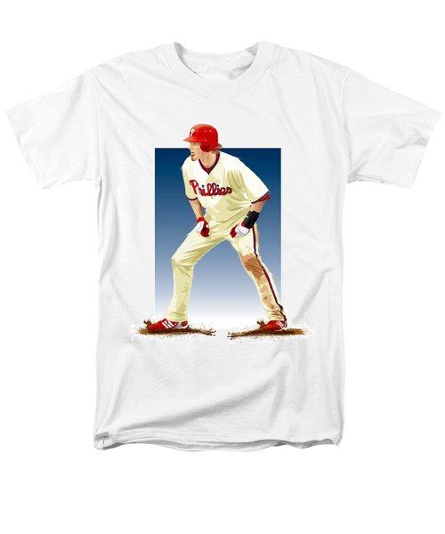 Jayson Werth Men's T-Shirt  (Regular Fit) by Scott Weigner