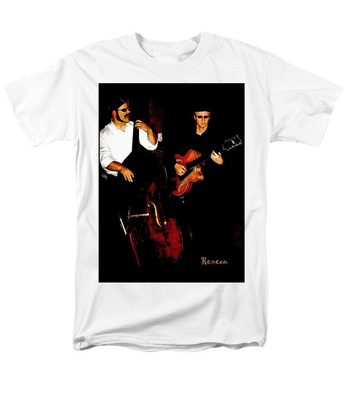 Jazz Musicians Men's T-Shirt  (Regular Fit) by Sadie Reneau