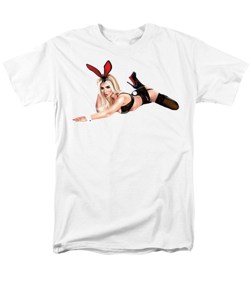 Men's T-Shirt  (Regular Fit) featuring the drawing Jenny Laird by Brian Gibbs
