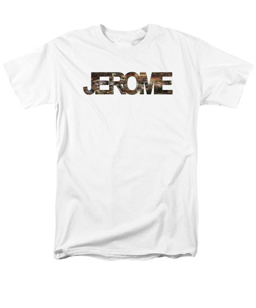 Jerome Men's T-Shirt  (Regular Fit) by Priscilla Burgers