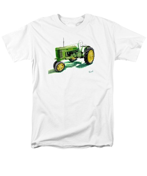 John Deere Tractor Men's T-Shirt  (Regular Fit) by Ferrel Cordle