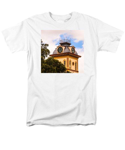 John W. Hargis Hall Clock Tower Men's T-Shirt  (Regular Fit)