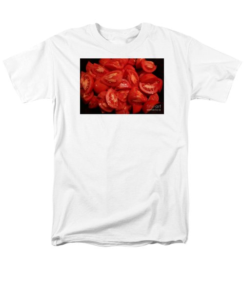Men's T-Shirt  (Regular Fit) featuring the photograph Juicy Tomatoes by Jeanette French