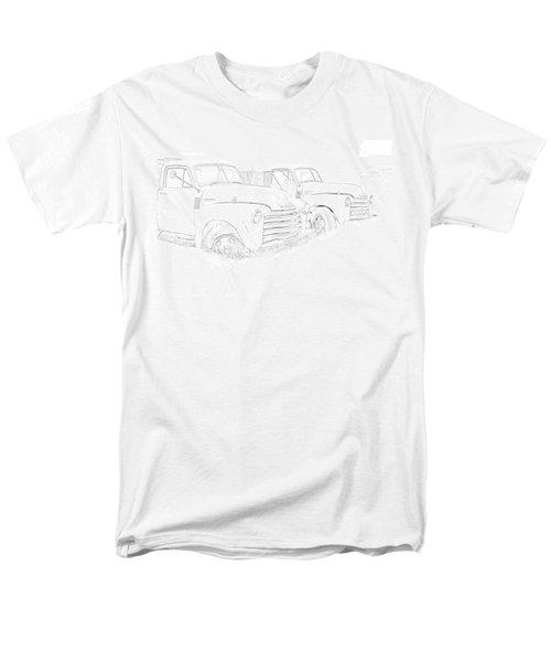 Junkyard Finds Men's T-Shirt  (Regular Fit) by Jeffrey Jensen