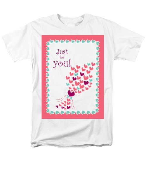 Just For You Men's T-Shirt  (Regular Fit) by Hye Ja Billie