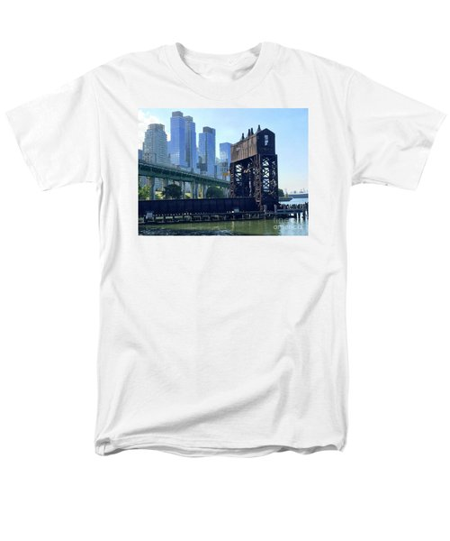 Juxtaposition Men's T-Shirt  (Regular Fit) by Beth Saffer