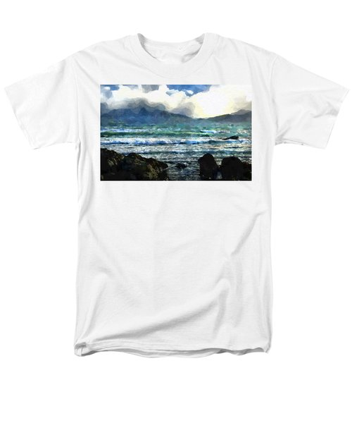 Kaikoura Seascape Men's T-Shirt  (Regular Fit) by Kai Saarto