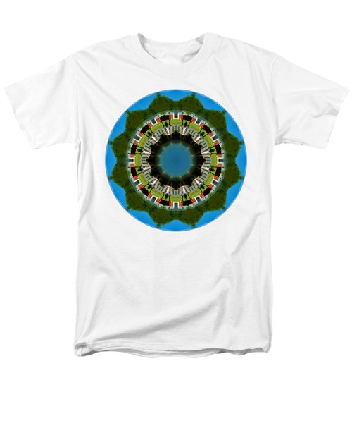 Men's T-Shirt  (Regular Fit) featuring the photograph Kaleidos - Hyannis02 by Jack Torcello