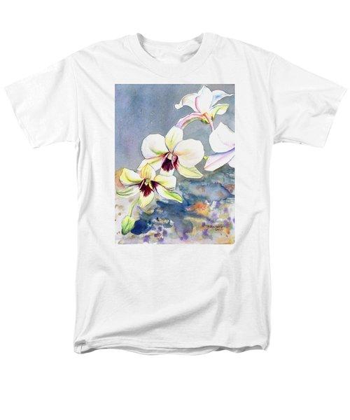 Kauai Orchid Festival Men's T-Shirt  (Regular Fit)