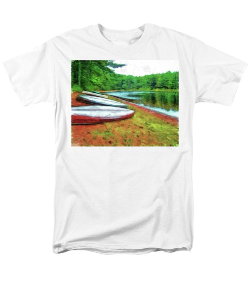 Kearney Lake Beach Men's T-Shirt  (Regular Fit)