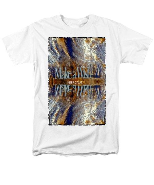 Keep Calm And Make A Wish Men's T-Shirt  (Regular Fit)