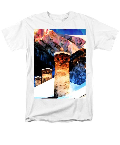 Keeper Of The Light Adishi Svaneti Men's T-Shirt  (Regular Fit) by Anastasia Savage Ealy